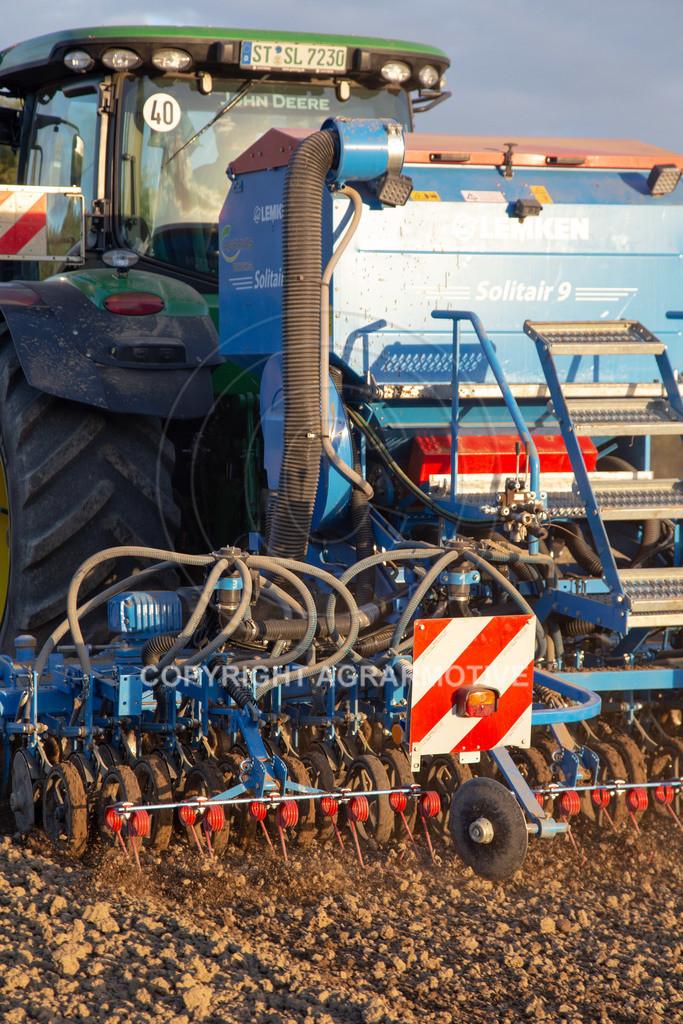 20180928-IMG_1229 | Aussaat von Wintergerste mit einer pneumatischen Drillmaschine