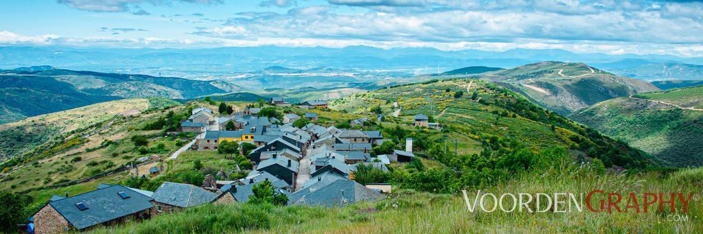 Jacobsweg - Camino Francés - El Acebo - Spanien