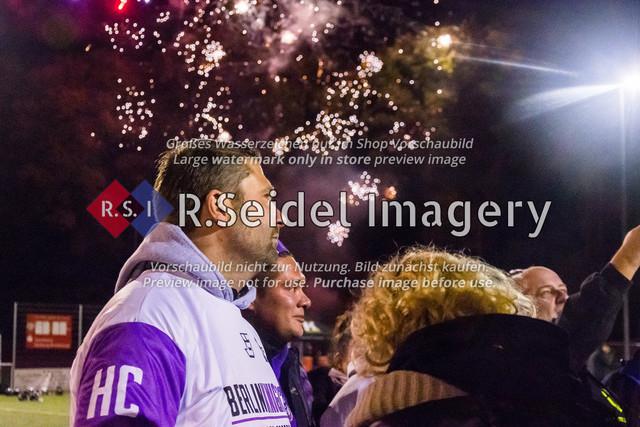 181027_RS-172110_NIK_8551   Foto des Volvo Krüll Halloween Game XI der Hamburg Ravens gegen die Berlin Knights vom 27.10.2018 auf der Jahnhöhe.