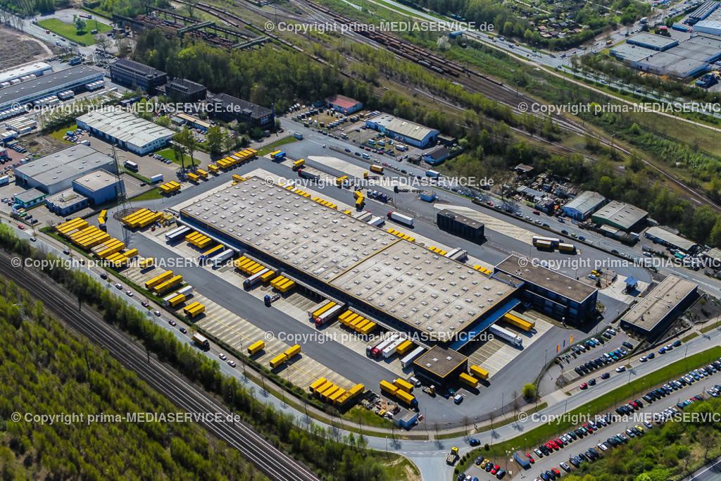 IMGL1866 | Luftbild DACHSER GmbH & Co. KG Frachtspeditionsdienst 21.04.2015 Niederlassung in Dortmund (Nordrhein-Westfalen, Deutschland).  Foto: Michael Printz / PHOTOZEPPELIN.COM