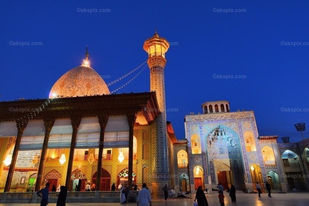 In Shiraz - Mausoleum - Schah Tscheragh | Schah Tscheragh (حرم مطهر احمد بن موسی(ع))