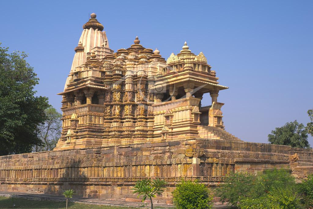 Indien_Tempelbezirk von Khajuraho 03