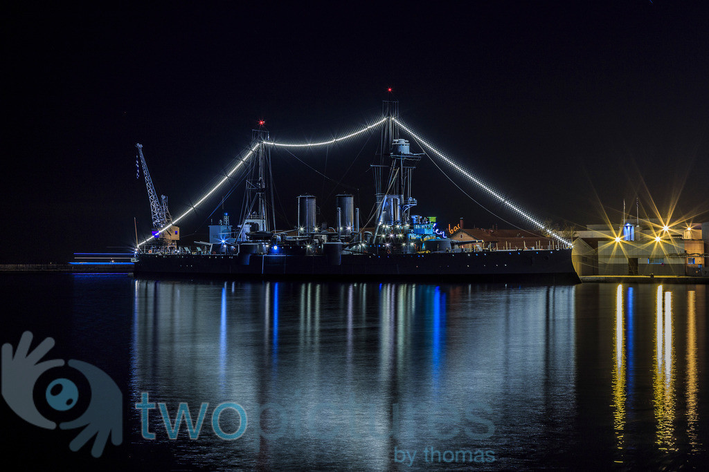 Die Averoff im Hafen von Thessaloniki | Thessaloniki
