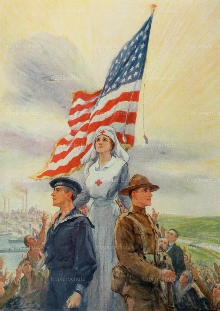 Yohn_ F.C. (1875-1933) - Scribner_s - Our All for Democracy