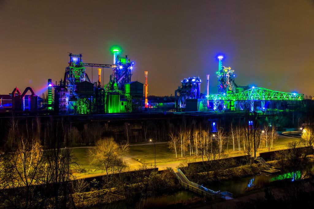 JT-160228-011 | Duisburg, Landschaftspark Duisburg Nord, ehemaliges Hüttenwerk, Stahlwerk,