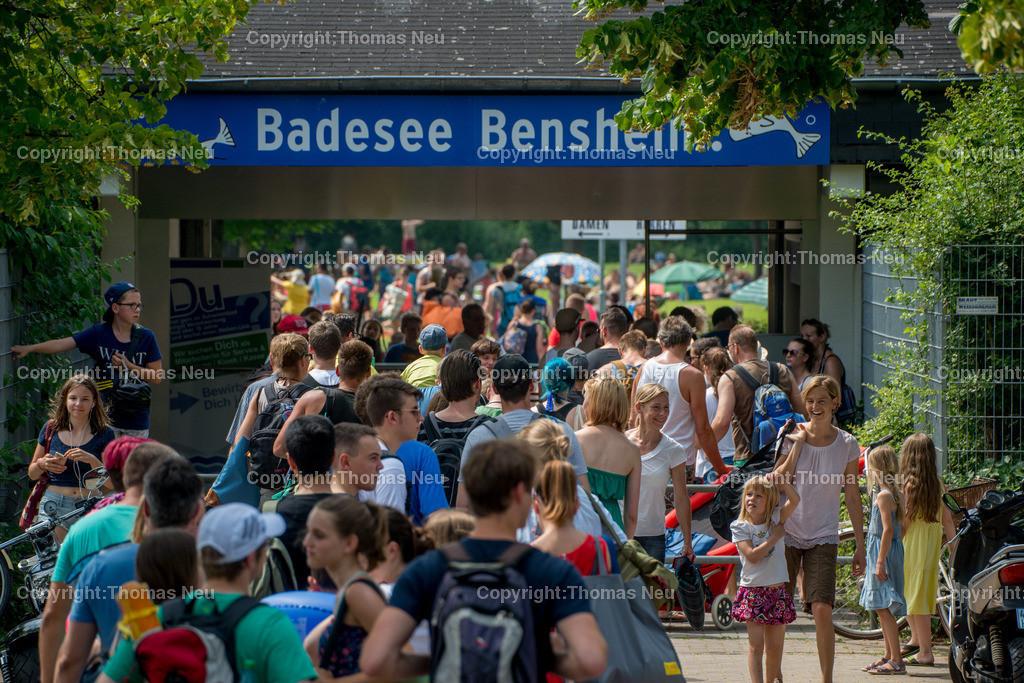 Badesee-39   Bensheim,Sommer am Badesee, ,, Bild: Thomas Neu