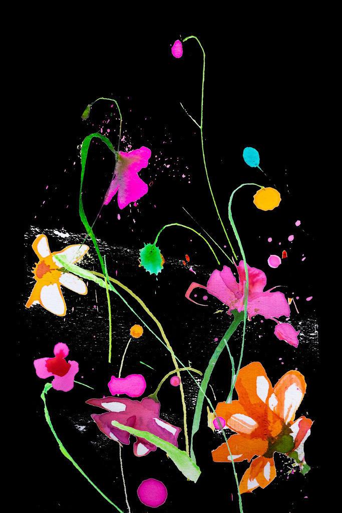 Blumen-Motiv-2 | Projektionsmotive der Kunstevents