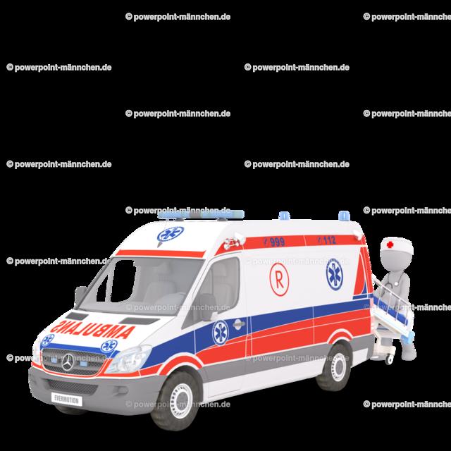 first aid with the ambulance car | Quelle: https://3dman.eu   Jetzt 250 Bilder kostenlos sichern