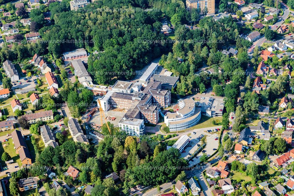 Buxtehude Elbekliniken_Umbau_ELS_8621300719 | Buxtehude - Aufnahmedatum: 30.07.2019, Aufnahmehöhe: 494 m, Koordinaten: N53°27.266' - E9°40.356', Bildgröße: 6252 x  4168 Pixel - Copyright 2019 by Martin Elsen, Kontakt: Tel.: +49 157 74581206, E-Mail: info@schoenes-foto.de  Schlagwörter:Niedersachsen,Luftbild, Luftbilder, Deutschland