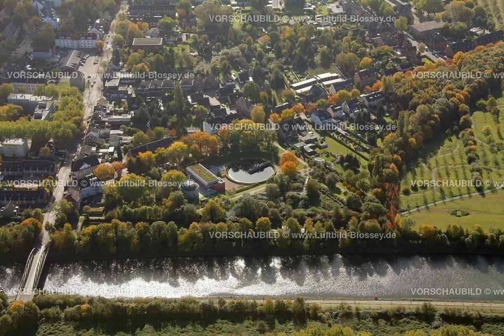 ES10103753 |  Oberhausen, Emscher 160 Kläranlage Läppkes Mühlenbach Ruhrgebiet, Nordrhein-Westfalen, Germany, Europa