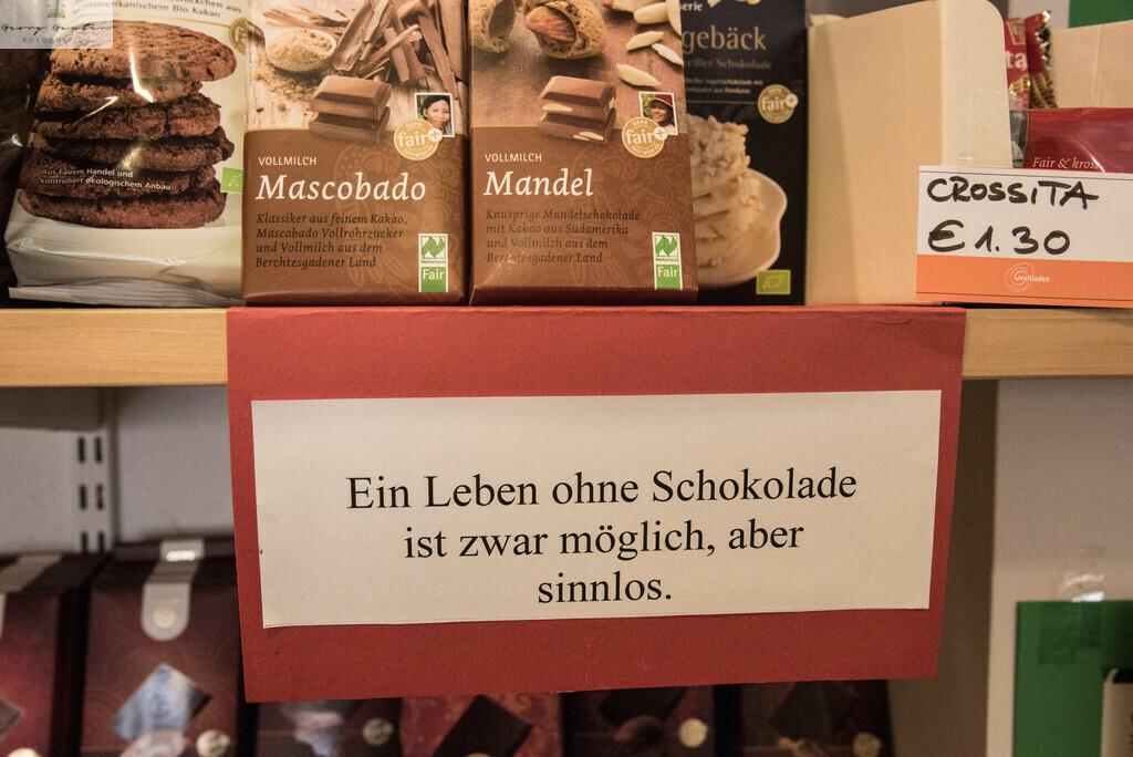 Ohne Schokolade