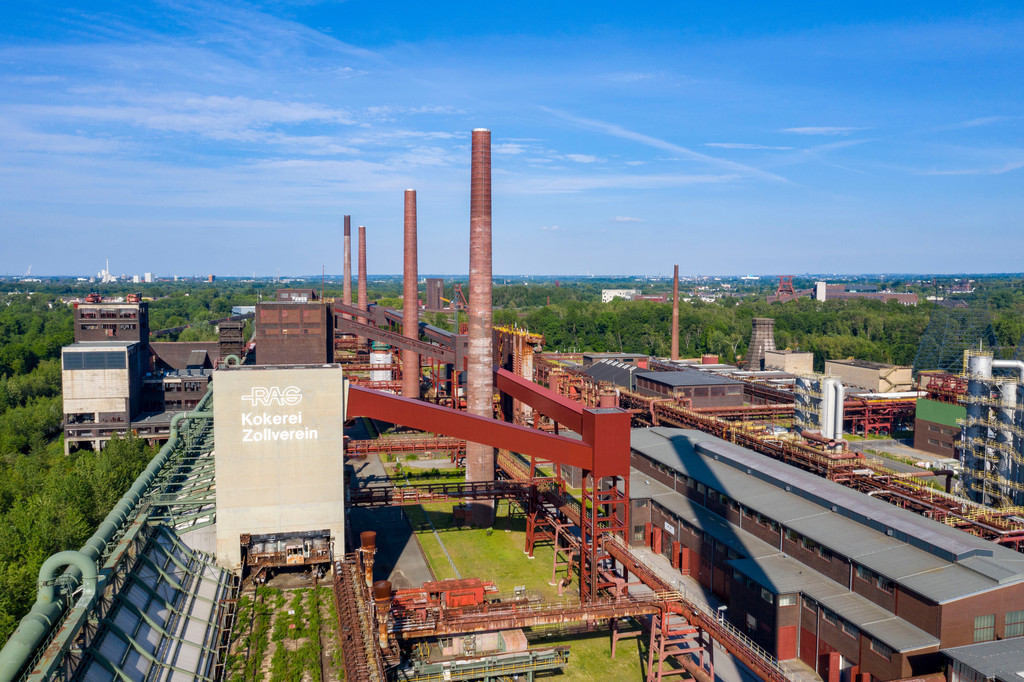 JT-200528 | Welterbe Zeche Zollverein, Kokerei Zollverein, Essen, Ruhrgebiet, NRW, Deutschland