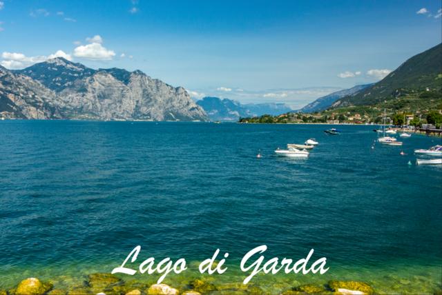 Lago di Garda | Der Gardasee mit Blickrichtung Norden. Urlaubsfeeling!