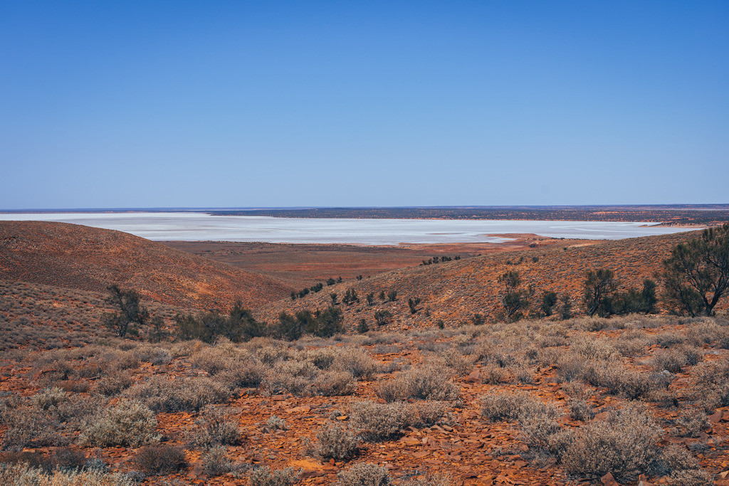 Salzsee in Australien | Salzsee in Australien