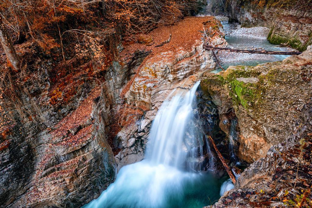 Wasserfall Tauglbach | Wasserfall am Tauglbach in Bad Vigaun
