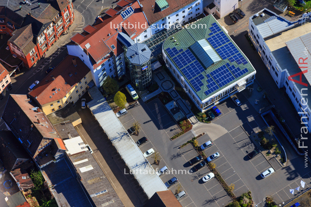 kulmbach-2016-3222   Luftbild von  Kulmbach - Luftaufnahme wurde 2016 von https://frankenair.de mittels Flugzeug (keine Drohne) erstellt - die Geschenkidee
