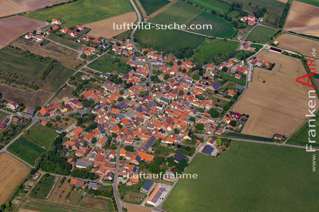 weigenheim-19-761 | aktuelles Luftbild von  Weigenheim - Luftaufnahme wurde 2019 von https://frankenair.de mittels Flugzeug (keine Drohne) erstellt.