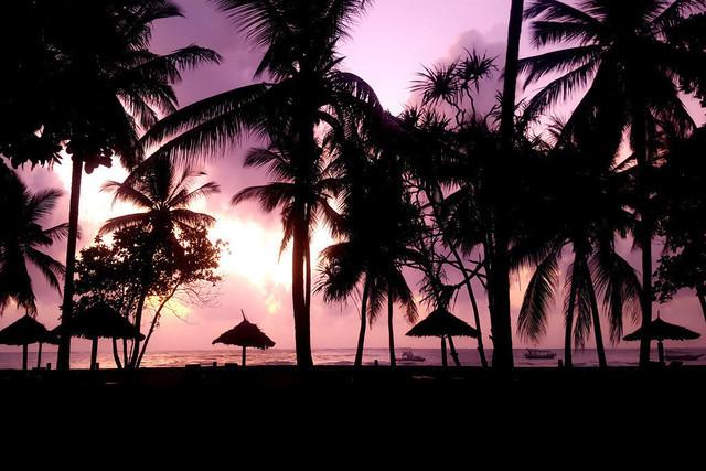In Heaven   Magischer Sonnenaufgang an der Küste Kenias mit Blick auf den indischen Ozean