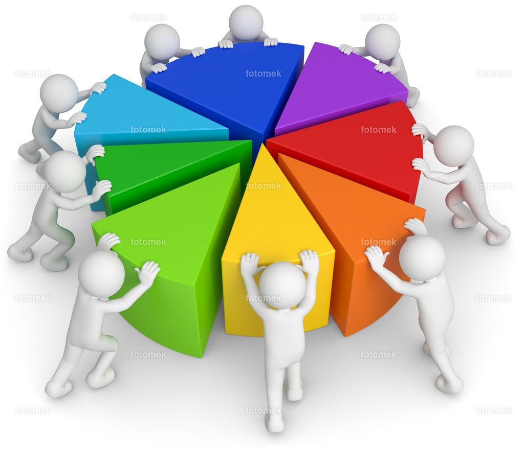 3d Männchen Teamwork Diagramm