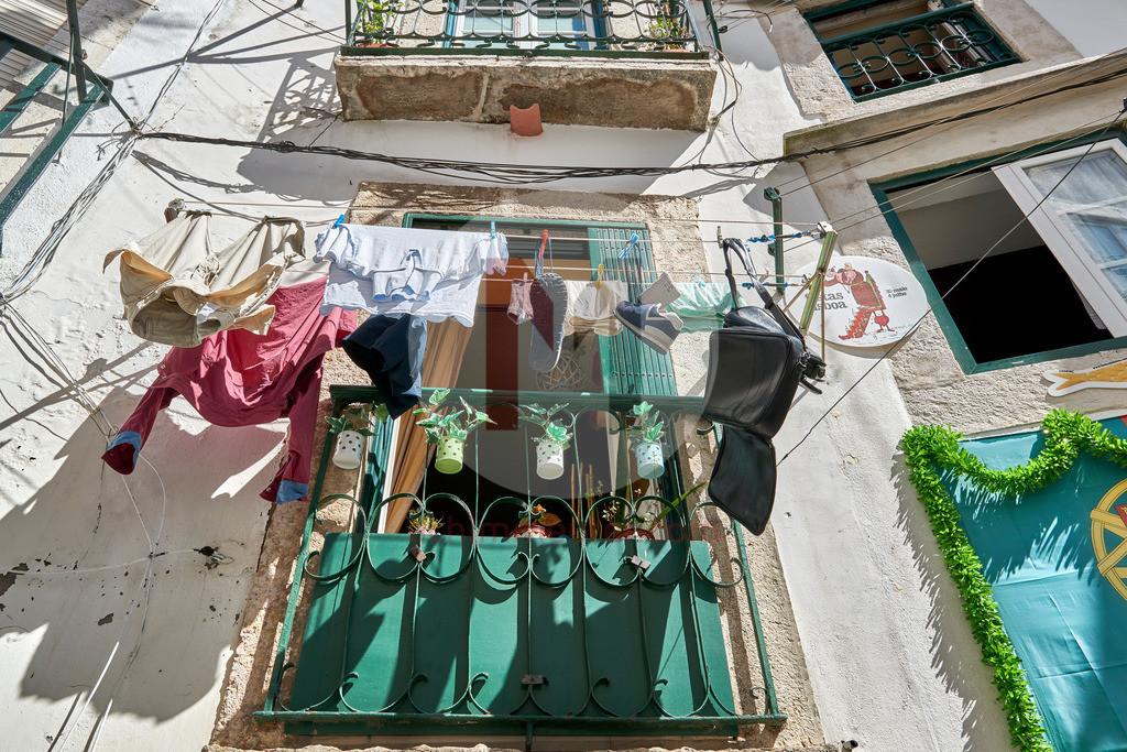 Das Viertel Alfama in Lissabon