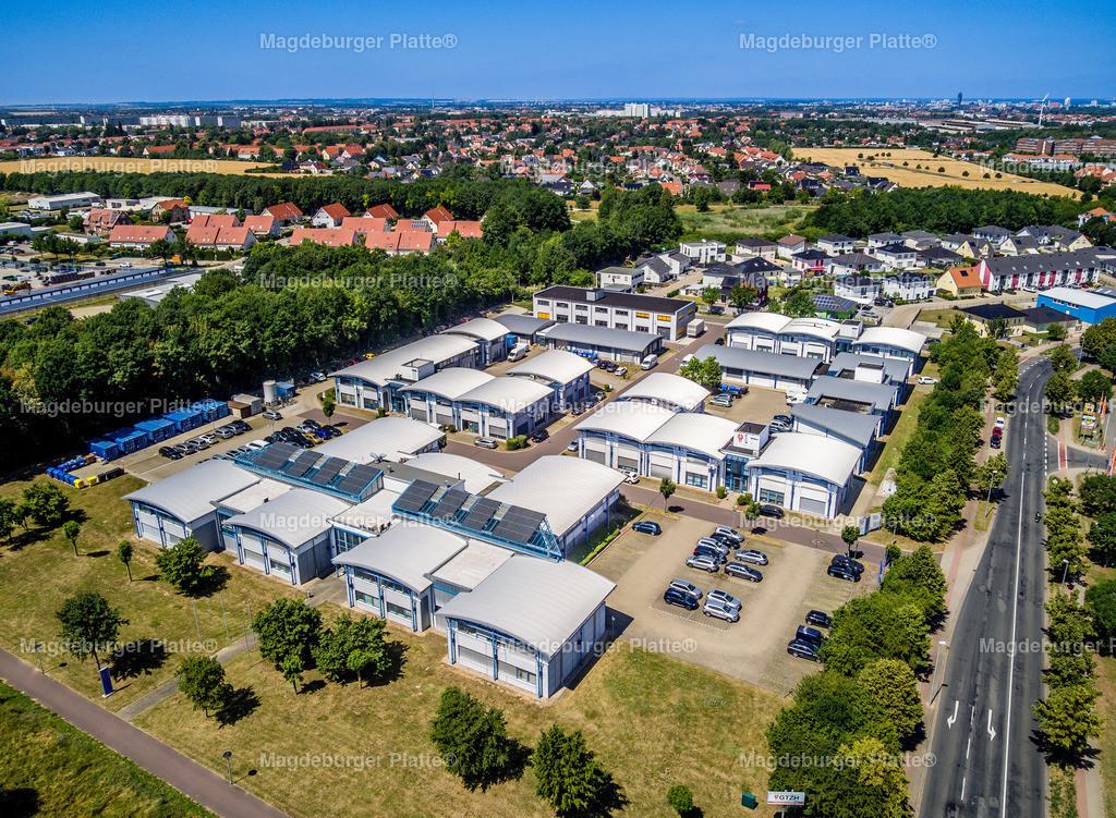 GTZH-0039   Luftbilder aus der Vogelperspektive von MAGDEBURG ... mit Drohne oder von oben fotografiert für die Bilddatenbank der Luftbildfotografie von Sachsen - Anhalt.