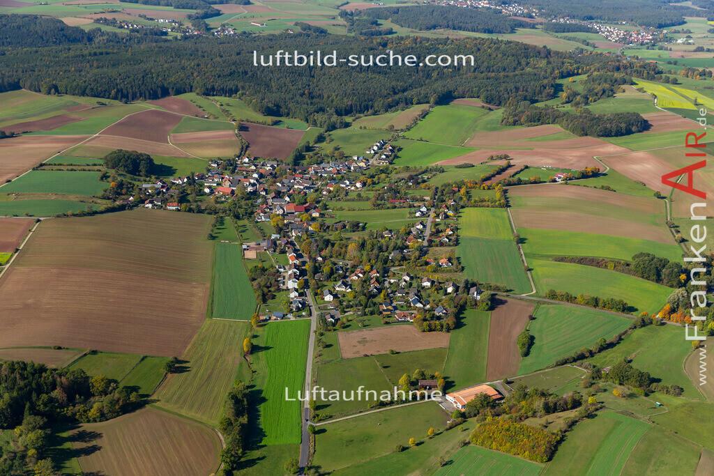 stoeppach-19-722 | aktuelles Luftbild von Stoeppach   - Luftaufnahme wurde 2019 von https://frankenair.de mittels Flugzeug (keine Drohne) erstellt.