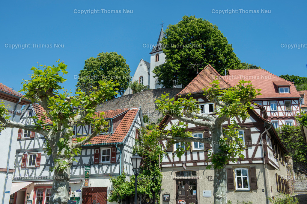 _DSC5820 | Zwingenberg,Altstadt,Bergkirche, , Bild: Thomas Neu