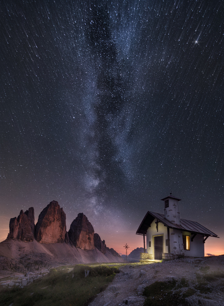 Tears Of The Sky | A cold summer night in the southern alps.