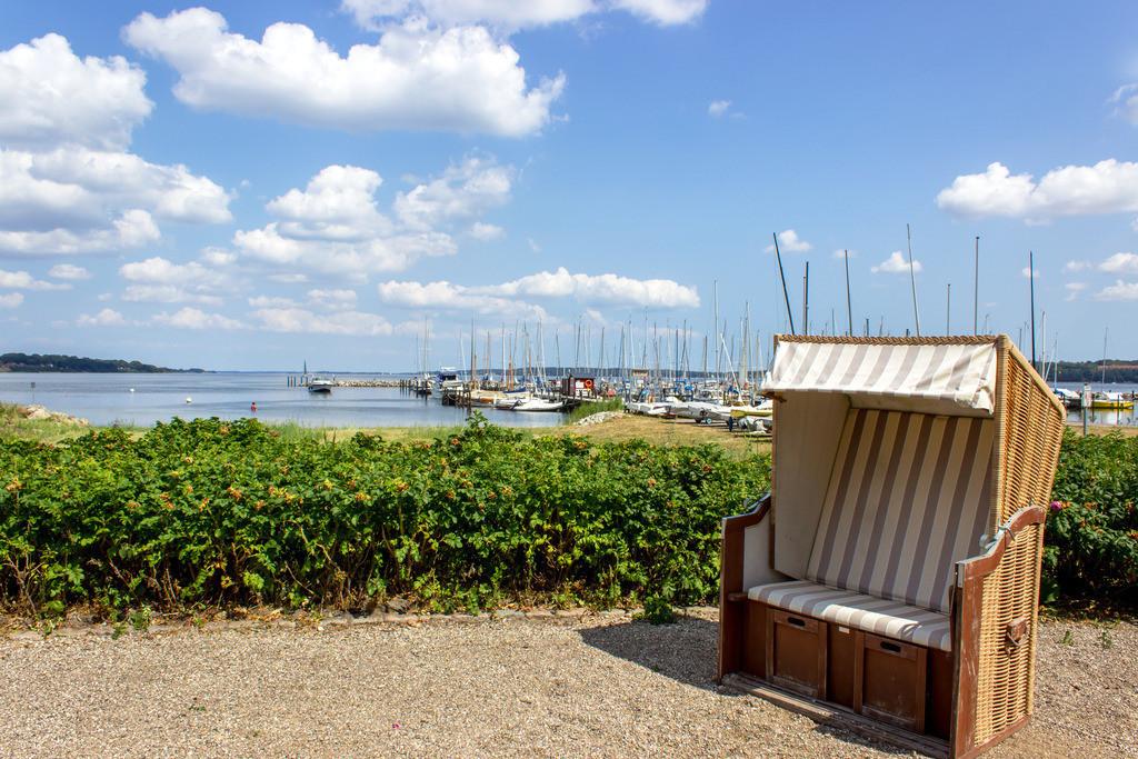 Strandkorb an der Ostsee | Strand in Wassersleben bei Flensburg