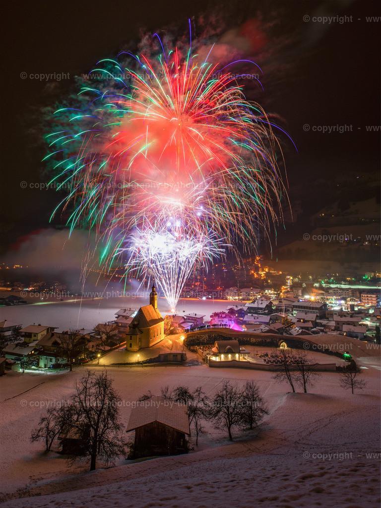 Vorsilvester Feuerwerk Ramsau im Zillertal-1