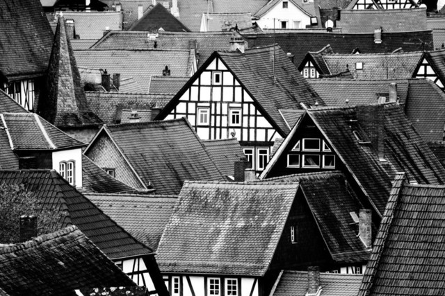 die dächer von büdingen