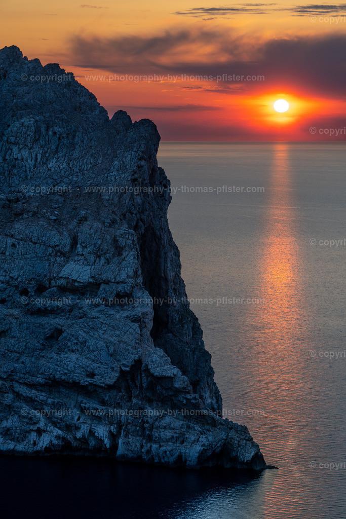 Es Colomer Sonnenuntergang