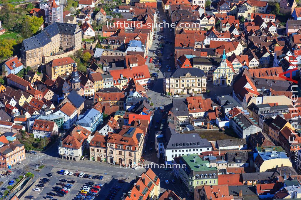 kulmbach-2016-3207   Luftbild von  Kulmbach - Luftaufnahme wurde 2016 von https://frankenair.de mittels Flugzeug (keine Drohne) erstellt - die Geschenkidee