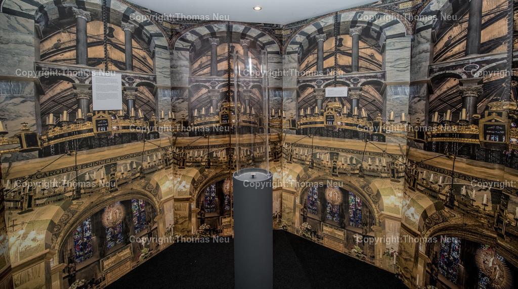 Vorfahren_Museum | Bensheim,Stadtmagazin 39, Museum,vergessene Vorfahren, Eingang zur Ausstellung, , ,, Bild: Thomas Neu