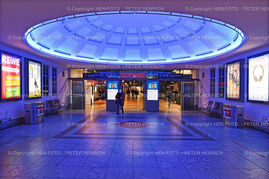 Innenaufnahme Hauptbahnhof Darmstadt   Innenaufnahme im Zugangsbereich vom Haupteingang zu den Bahngleisen