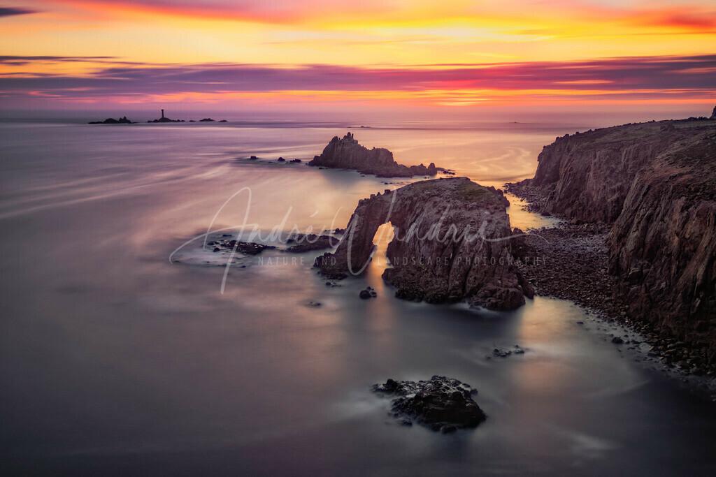 Sonnenuntergang über dem Nebelmeer