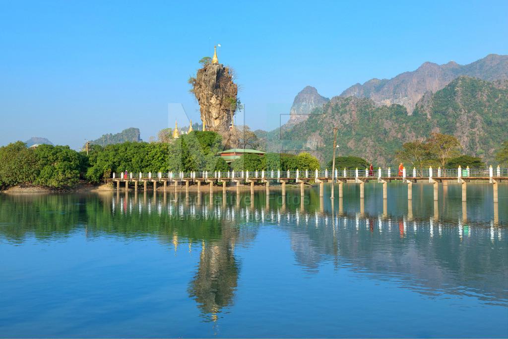 MW0115-3815 | Myanmar | Kloster Kyauk Ka Lat nahe Hpa-an
