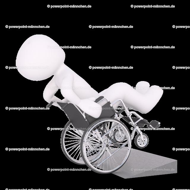 sitting in a wheelchair. | sitting in a wheelchair