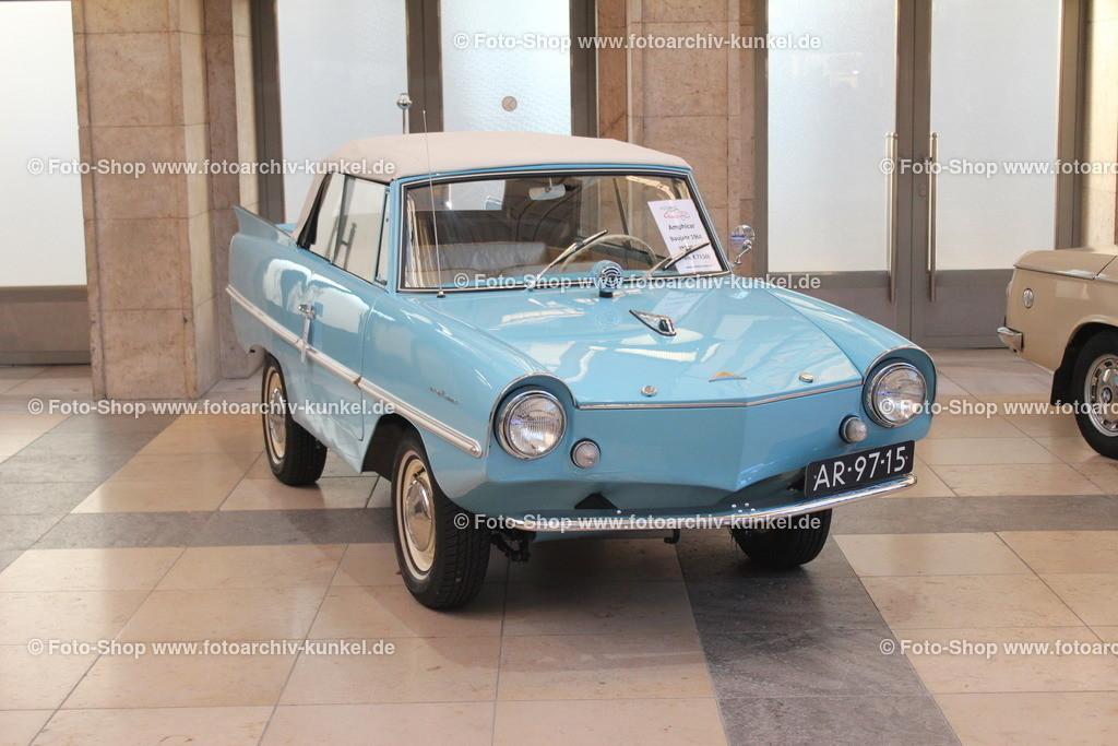 Amphicar 770 Amphibienfahrzeug 2 Türen, hellblau, EZ 1964 | Amphicar 770 Amphibienfahrzeug 2 Türen, hellblau, Bauzeit der Serie 1960-63, Erstzulassung 1964, Herstellerland Deutschland