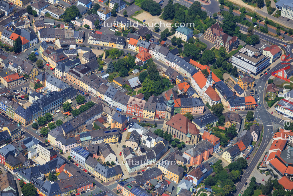 wunsiedel-2014-105 | Luftbild von  Wunsiedel - Luftaufnahme wurde 2014 von https://frankenair.de mittels Flugzeug (keine Drohne) erstellt - die Geschenkidee