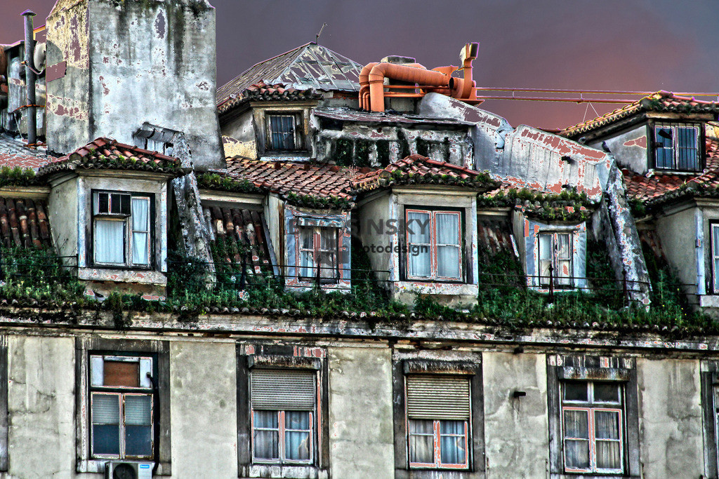 Old house in Lisbon | Format 3x2