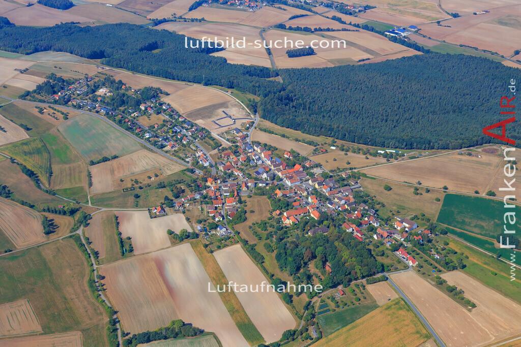 rauschenberg-dachsbach-2016-205   Luftbild von Rauschenberg Dachsbach - Luftaufnahme wurde 2016 von https://frankenair.de mittels Flugzeug (keine Drohne) erstellt - die Geschenkidee