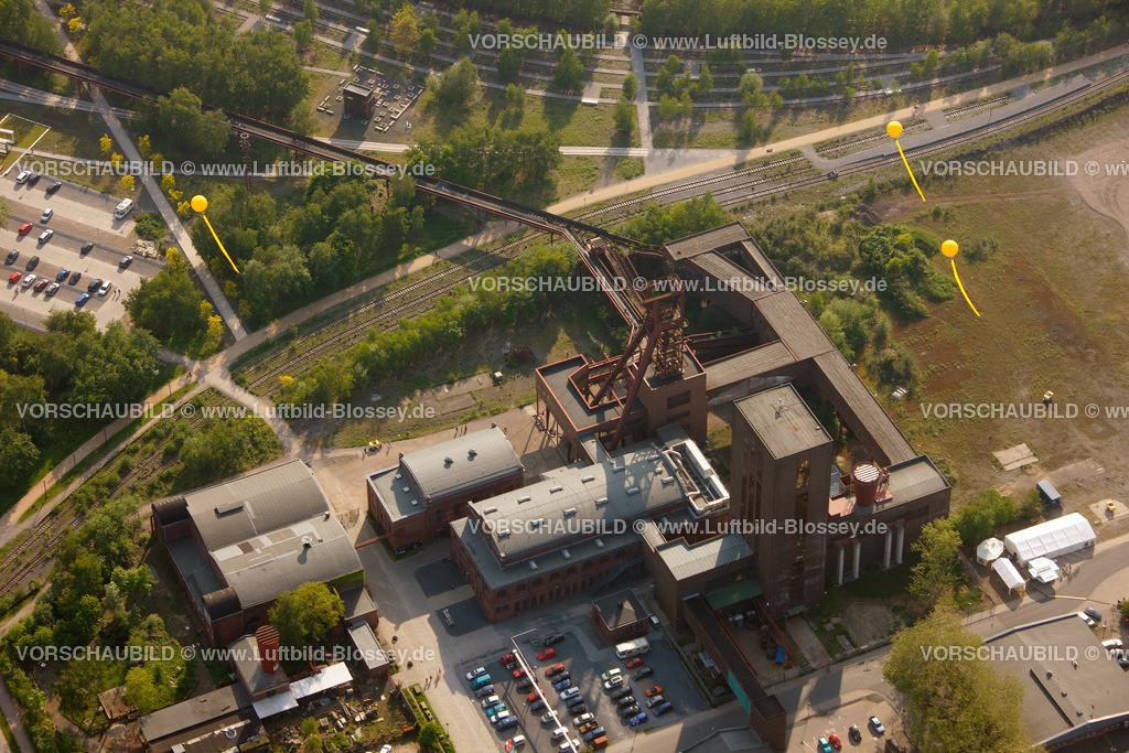 ES10056343 | Zollverein 12/6/8 Weltkulturerbe, Zollverein 3/7/10, Schachtzeichen ruhr2010,  Essen, Ruhrgebiet, Nordrhein-Westfalen, Deutschland, Europa, Foto: hans@blossey.eu, 22.05.2010