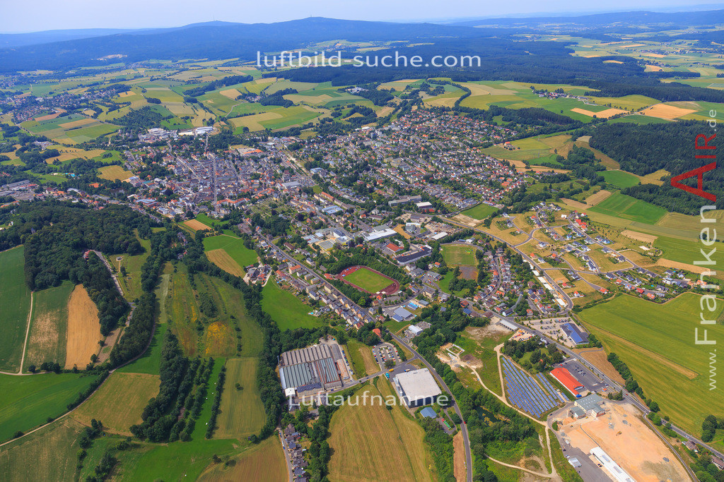 wunsiedel-2016-3772 | Luftbild von  Wunsiedel - Luftaufnahme wurde 2016 von https://frankenair.de mittels Flugzeug (keine Drohne) erstellt - die Geschenkidee