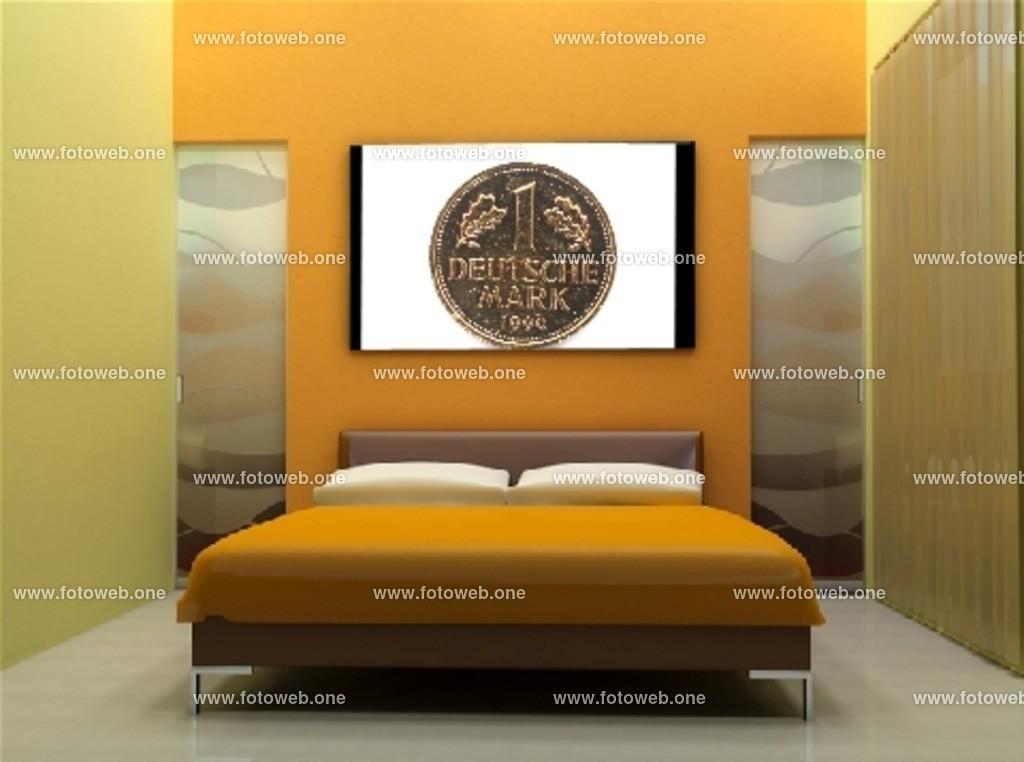 1 D-Mark als Schlafzimmer Bild | 1 D-Mark als Schlafzimmer Bild