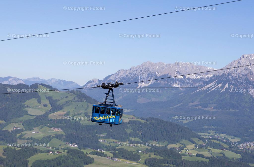 A_LUI_27052017_11   KITZBUEHEL TIROL AUSTRIA OESTTEREICH FEATURE SEILBAHN KITZBUEHELER HORN FOTO:FOTOLUI