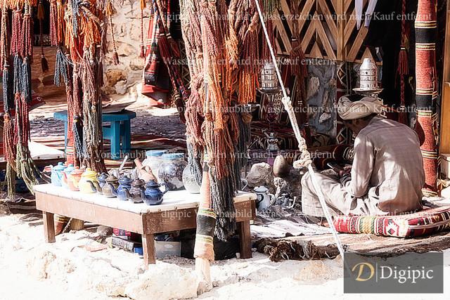Orange Bay 1 | Einheimischer Verkäufer in der Orange Bay - Hurghada