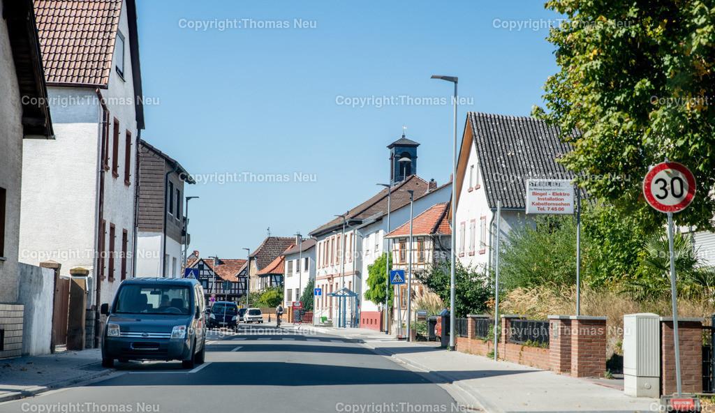 DSC_9961 | Bensheim,bbe,Stadtteil Schwanheim, Blick von Ost nach West Rohrheimer Straße,  ,, Bild: Thomas Neu