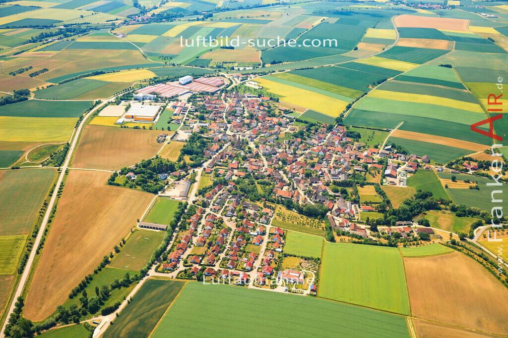 luftbild-ergersheim-2015-4691 | Luftbild von  Ergersheim - Luftaufnahme wurde 2015 von https://frankenair.de mittels Flugzeug (keine Drohne) erstellt - die Geschenkidee