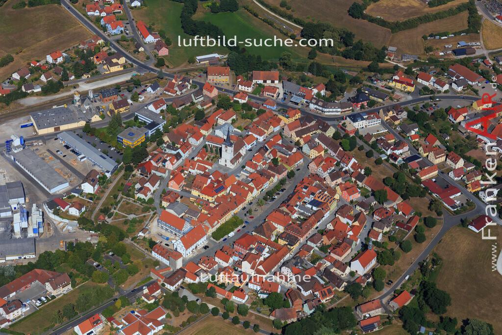 schluesselfeld-2015-2213 | Luftbild von  Schluesselfeld - Luftaufnahme wurde 2015 von https://frankenair.de mittels Flugzeug (keine Drohne) erstellt - die Geschenkidee